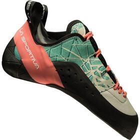 La Sportiva Kataki Climbing Shoes Dame mint/coral